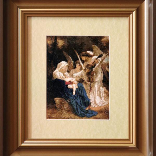 Bouguereau - Cantecul ingerilor - 120 x 160 mm 24 culori 400