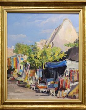 Capadocia Bazar din Derbent 1800 53x39