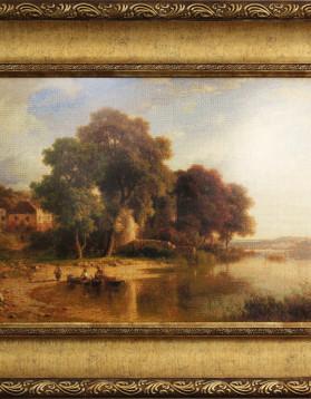 Possenhofen - Josef Schertel - 46 x 34,2 cm 52 culori 5200