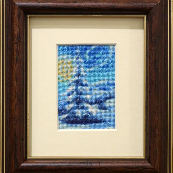 Iarna - 5x7 cm (rama 15,5 x 13,5 cm) 10 culori - 90 lei