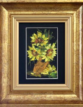 Stefan Murzic - Floarea soarelui - 7,5x12cm(r 21x24cm) - 99 lei