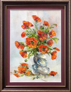 Stefan Murzic - Maci rosii - 26x18cm (R33x25cm) - 150 lei