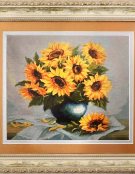 Surorile Soarelui - 25x23 cm 30 culori (Rama 39,5x36 cm)