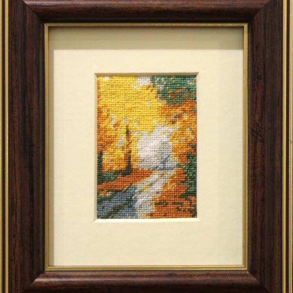 Toamna - 5x7 cm (rama 15,5x13,5 cm) 10 culori - 90 lei